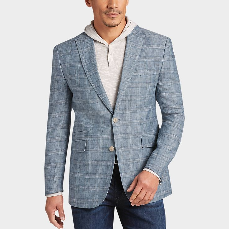 Buy a Joseph Abboud Blue Plaid Casual Coat online at Men's Wearhouse. See the latest styles of men's Casual Coats. FREE Shipping on orders $50+.