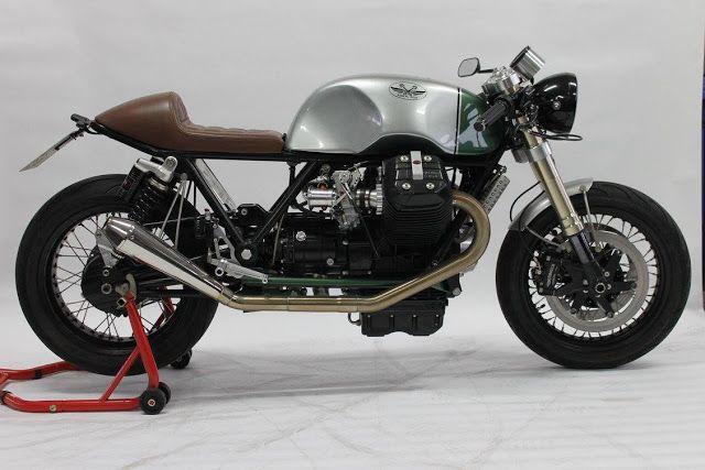 "Racing Cafè: Moto Guzzi ""The Fugitive Nr.Due"" by Radical Guzzi"