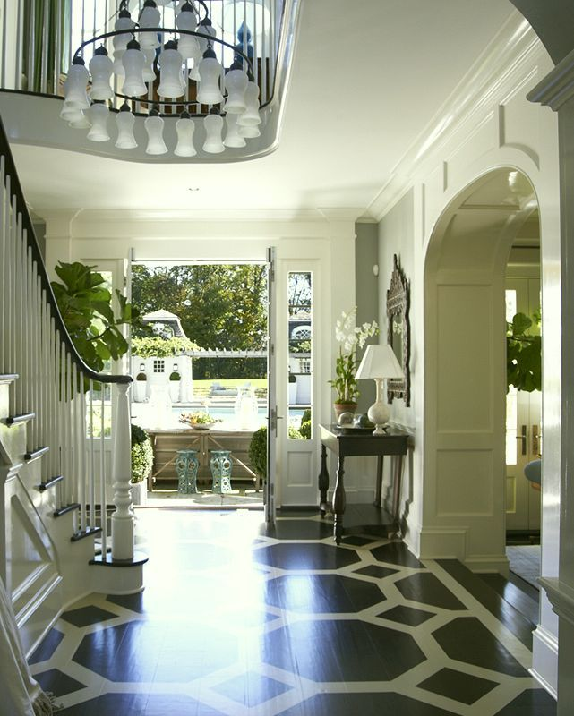 8 Secrets to Having a Gorgeous Entrance Foyer - laurel home | exquisite entry by Lynn Morgan