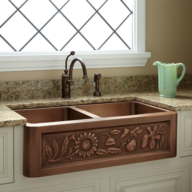 Best 25+ Copper Kitchen Sinks Ideas On Pinterest | Copper Sinks, Country Kitchen  Sink And Hammered Copper