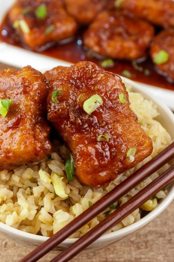 5 ingredient orange chicken easy chinese food best chicken dinners orange chicken in 2020 homemade chinese food orange chicken recipe tasty easy chinese recipes pinterest