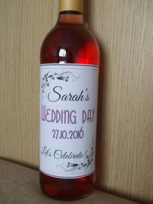 Wonderful Wine Labels is a Wedding Supplier of Table Decorations, Hen Party, Favours & Gifts. Are you planning your Big Day and looking for wedding items, products or services? Why not head over to MyWeddingContacts.co.uk and take a look at Wonderful Wine Labels's profile page to see what they have to offer. Helping make your wedding day into a truly Amazing Day. Oh, and good luck and best wishes with your Wedding.