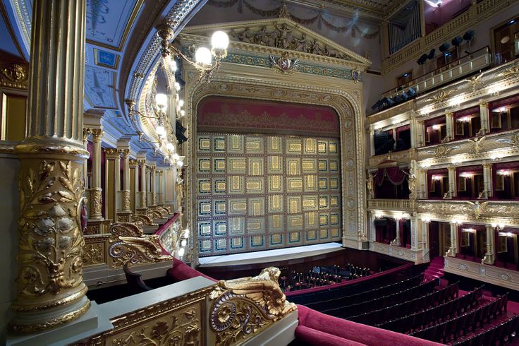 Narodni Divadlo, National Theater, Prague.  Jorge Royan
