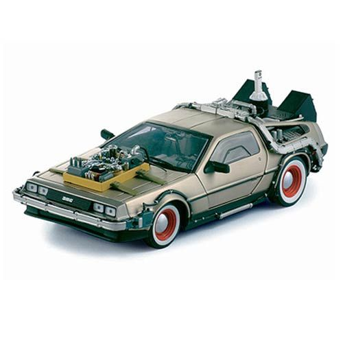 Back to the Future Part III DeLorean 1:18 Die-Cast Vehicle
