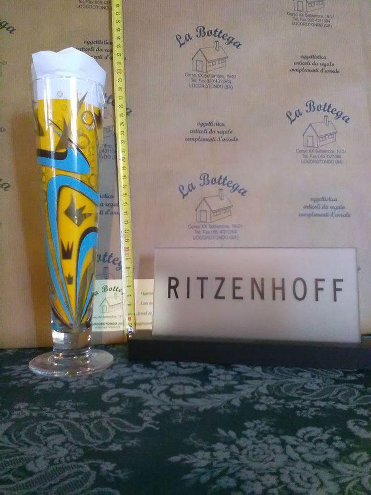 Bicchiere birra da collezione Ritzenhoff idea regalo uomo, san valentino