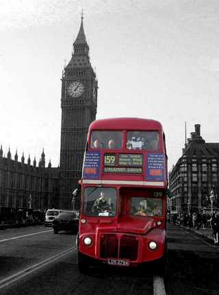 Unfortunately most double deckers are long gone, except for the touristy ones.