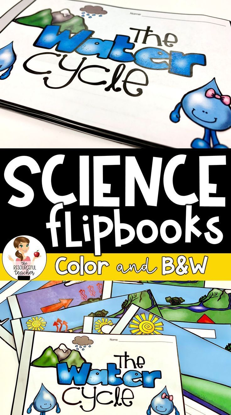Your Students Will Have A Blast Learning About The Water Cycle Using This Water Cycle Flip Book For 3rd 5th Grade I U Flip Book Science Activities Activities