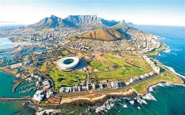 Ciudad del Cabo en Provincia Occidental del Cabo