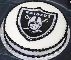 Raiders Groom Cake