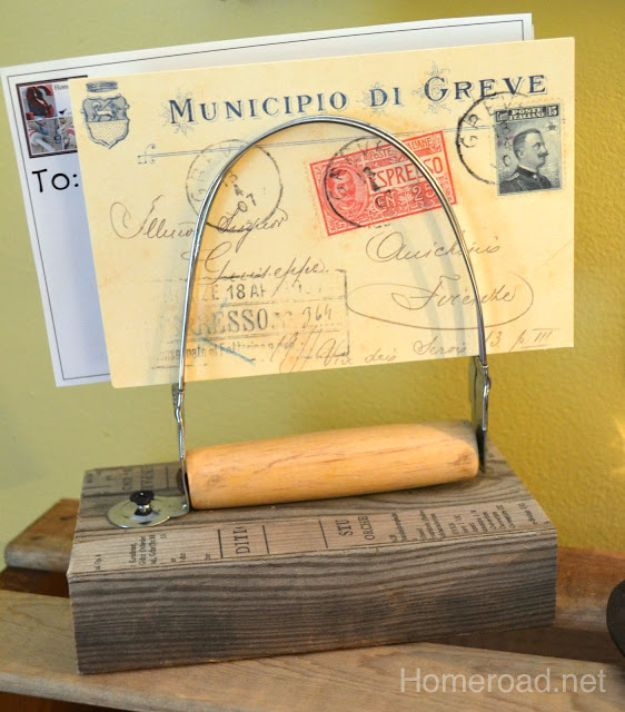 Country Crafts to Make And Sell - Vintage Pastry Blender Note Holder - Easy DIY Home Decor and Rustic Craft Ideas - Step by Step Farmhouse Decor To Make and Sell on Etsy and at Craft Fairs - Tutorials and Instructions for Creative Ways to Make Money - Best Vintage Farmhouse DIY For Living Room, Bedroom, Walls and Gifts http://diyjoy.com/country-crafts-to-make-and-sell