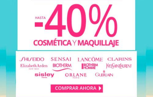 Hasta un 40% de descuento en cosmética en Paco Perfumerías