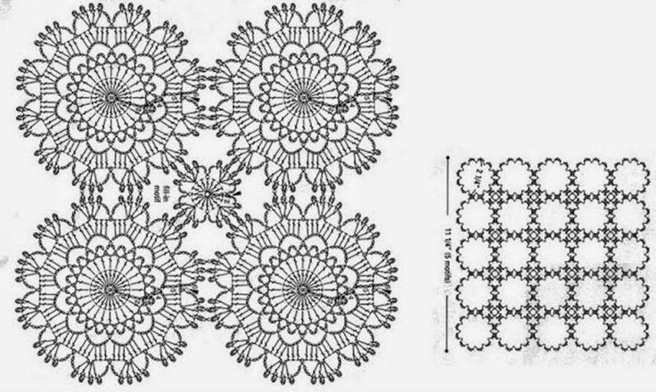 LINDEVROUWSWEB: Gehaakte jurken - Crochet dresses