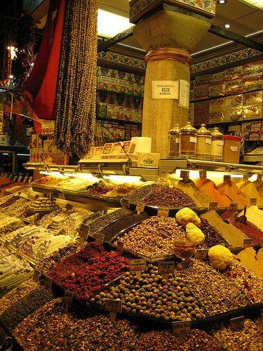 Estambul-bazar-egipcio-0043,puesto de especias