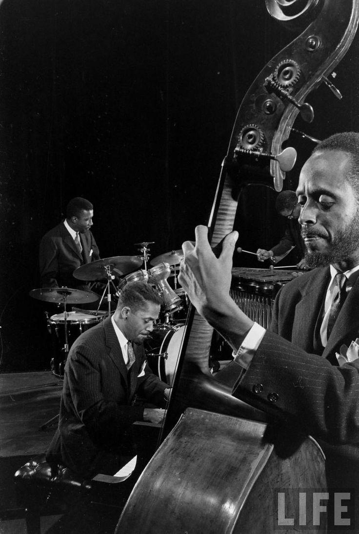 "electronicsquid "" Modern Jazz Quartet (Gjon Mili. 1961)"""
