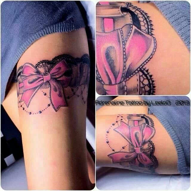 When I lose my goal weight, I'm getting a garter tattoo.