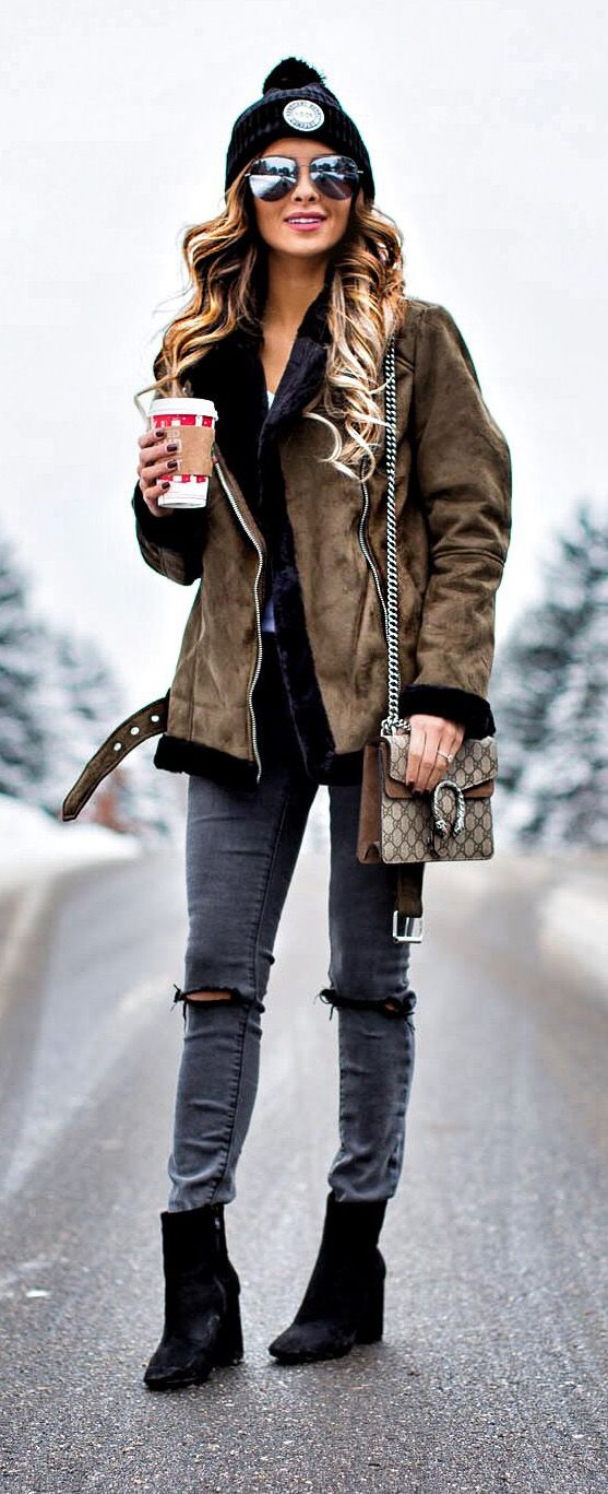 WInter Outfit Topshop Coat