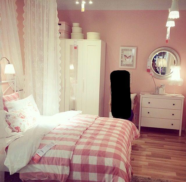 ikea bedroom idea. Emmie Ruta. Girls room More