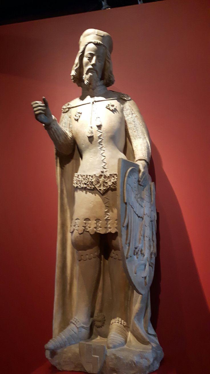 Statua  di San Venceslao. Peter Parler. 1373