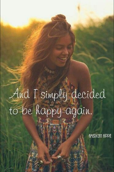 ☮ American Hippie ☮ Choose Happy :)       [Image: Pinterest]