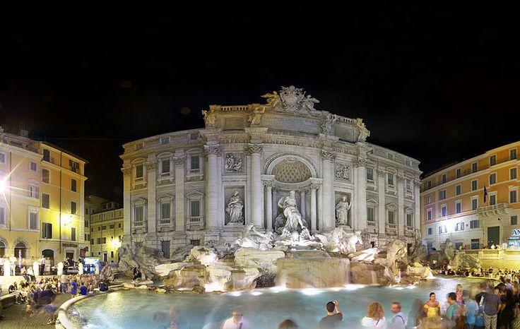 Фонтан  Треви,  Рим.