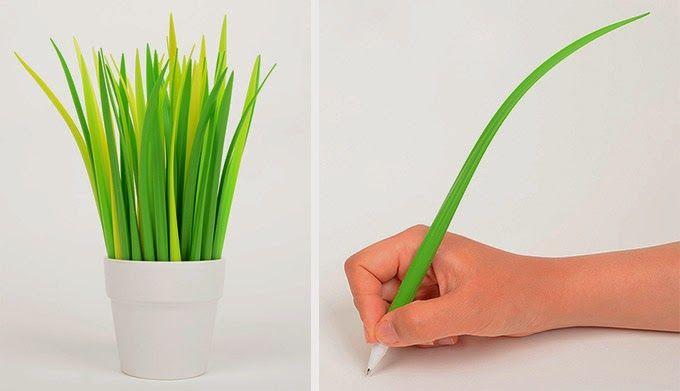 Daily D3sign: DAILY DESIGN:  Długopis źdźbło trawy Pooleaf studi...