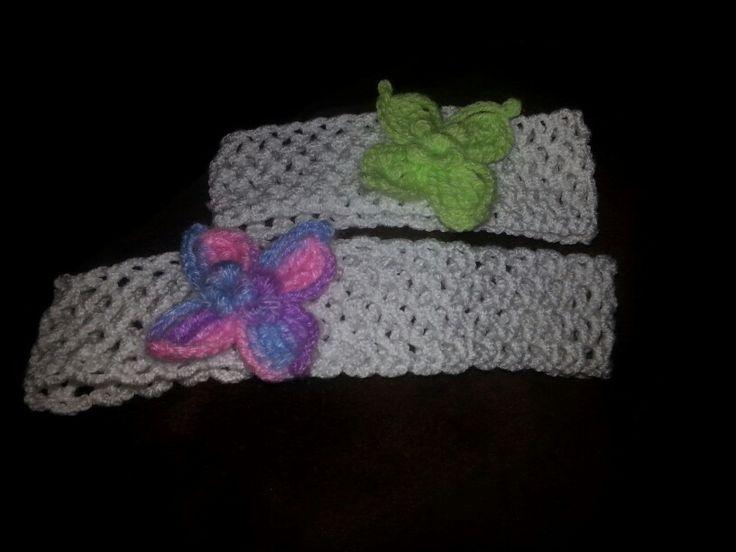 Diadema o cintillo a crochet