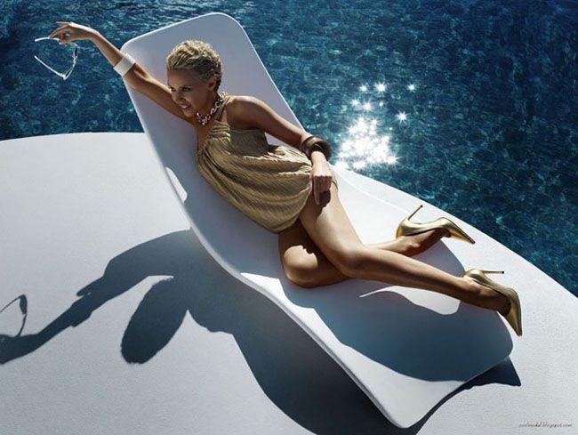 Кайли Миноуг в рекламной кампании H&M loves Kylie
