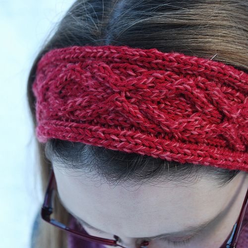 Free Crochet Cable Stitch Headband Pattern : 17 Best images about knitted headband patterns/ideas on ...