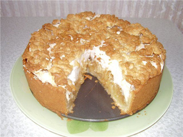 торты пироги с безе фото рецепт