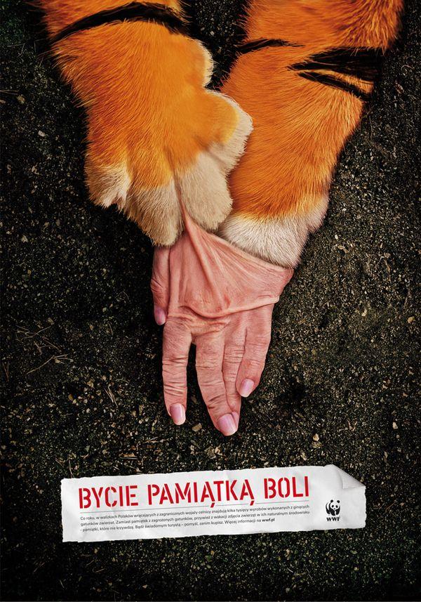 WWF Campaign by Marcin Budzi\u0144ski - Gute Werbung