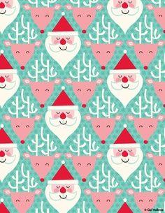 Santas pattern