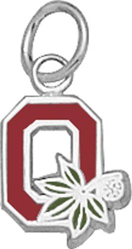 "Ohio State University Pendant - 10k Gold Enameled Block Style ""O"" 3/8"" NCAA Officially Licensed. $101.99"