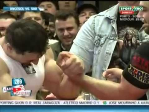 A Professional Arm Wrestler and a Body Builder Go at it. Who Will WIN?