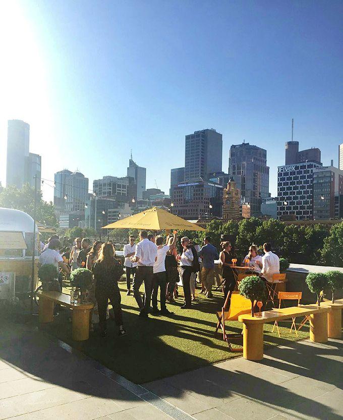 Melbourne Girl - Veuve Clicquot Airstream Pop Up Bar