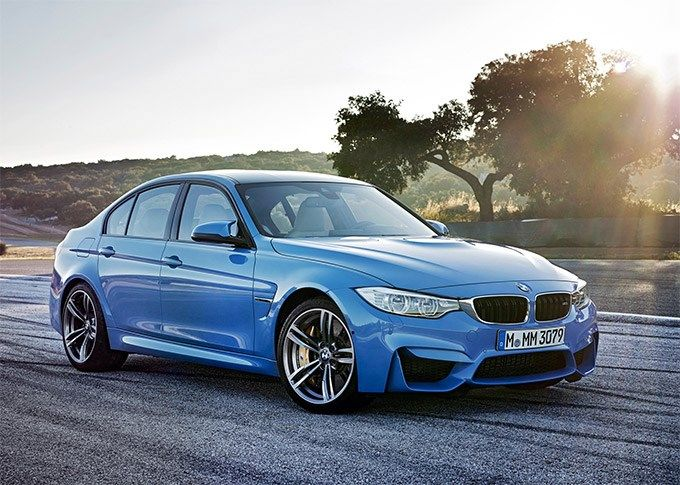 2015 BMW M3.  Lust defined.