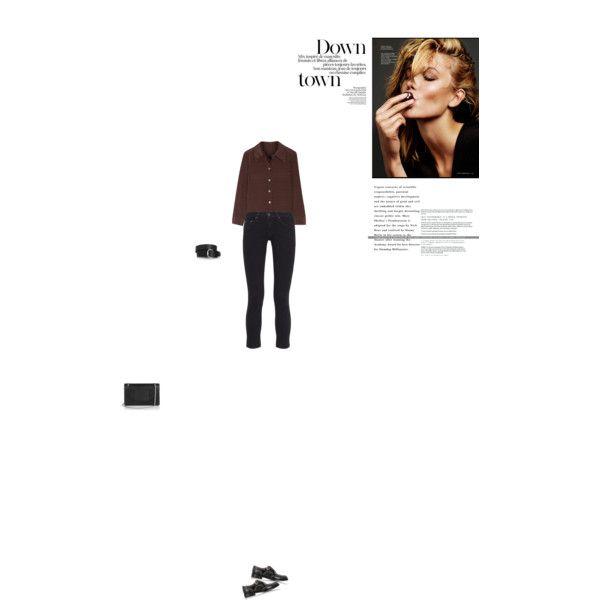 Bez tytułu #89 by izabelmaz on Polyvore featuring moda, Marc Jacobs, rag & bone, Church's, Yves Saint Laurent and Isabel Marant