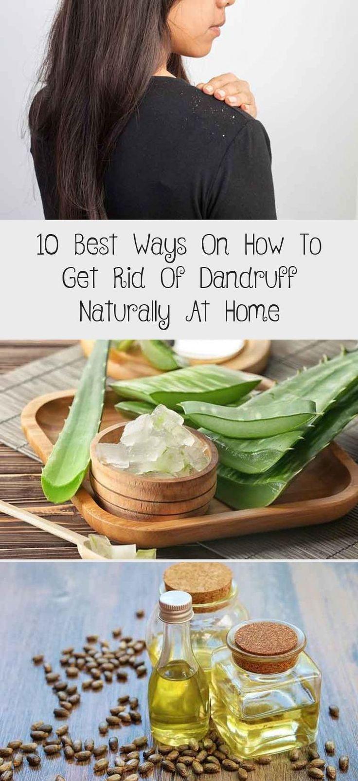 how to get rid of dandruff men's health