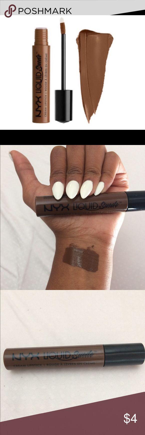 NYX Matte Lipstick - Sierra - Pink Lipstick - Matte Finish ...  Nyx Matte Lipstick Sierra Dark Skin