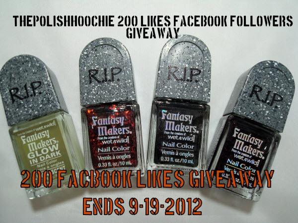 ThePolishHoochie: 200 Likes Facebook Giveaway!