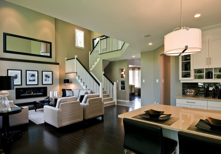 Living Room Dining Room Cardel Homes Home Decor