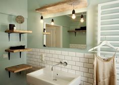 Das Badezimmer Strahl Lebensfreude Und Unternehmungslust Aus #bathroom  #zest4life