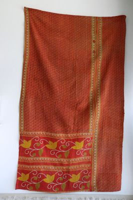 Vintage Bengali kantha throw. From Nordenblank shop on www.facebook.com/...