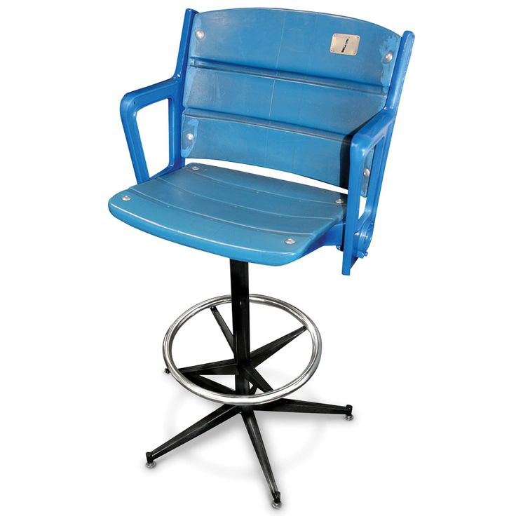 An Authentic #Yankee Stadium seat, converted into a barstool.