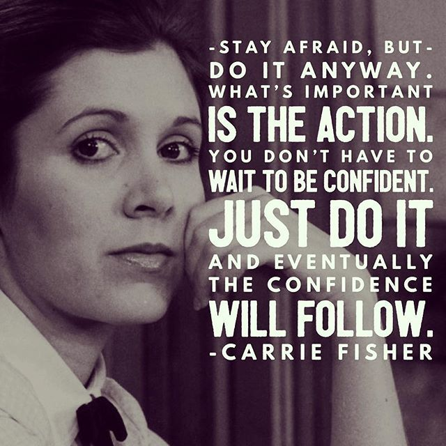 Thank you Carrie Fisher for inspiring and leading generations of women through your acting, writing, and mental health advocacy. #ripcarriefisher