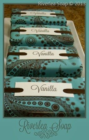 Beautiful packaging from Riverlea Soaps