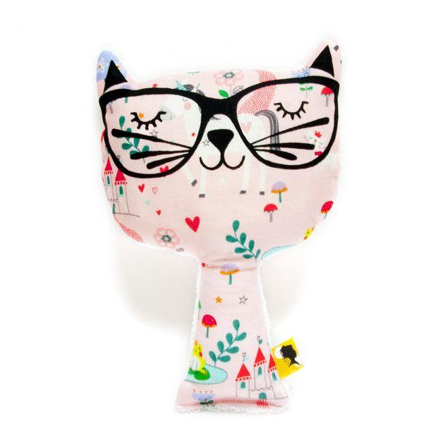 Kuscheltiere - Cat plush decorative PRINCESS - ein Designerstück von PaniesFollies bei DaWanda