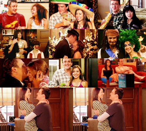 marshall eriksen and lily aldrin how i met your mother