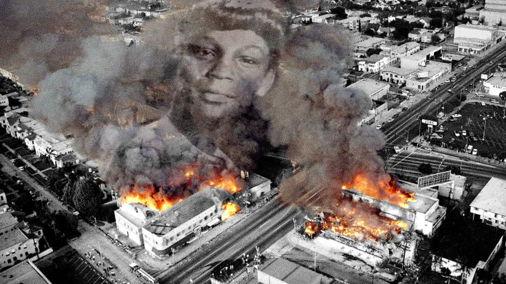 """The civil unrest that followed the acquittal of four Los Angeles police officers whose brutal beating of Rodney King was caught on film has been etched into American history—""""The Rodney King riots"""" shorthand for the events also known as the Los Angeles Uprising."""