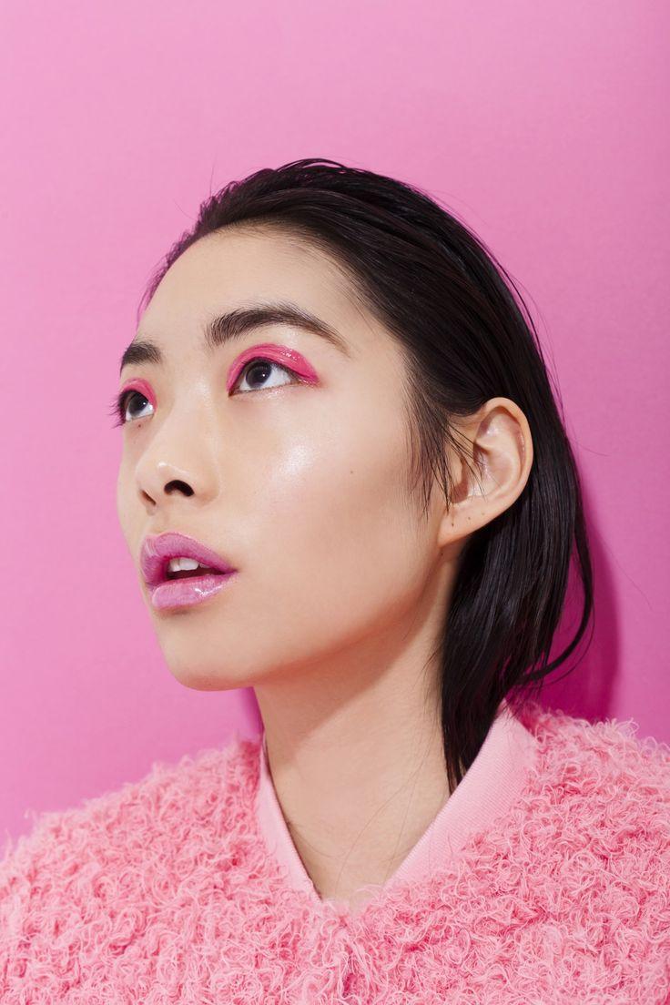 Rina Sawayama | Anti-Agency | pink | Asian makeup ...
