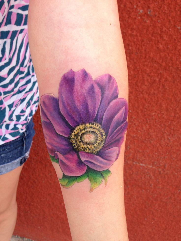 Anemone Bouquet Tattoo
